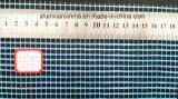 Het alkali Bestand 145g 5*5 Netwerk van de Stof van het Fiberglas van de mm Blauwe Kleur voor Pleisterende Lange 50m
