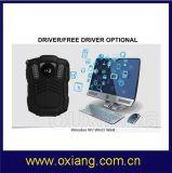 Cámara desgastada carrocería de WiFi de la policía mini con el GPS con 3G/4G el coche DVR