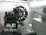 Torno del CNC, borde que repara, eje de rueda de coche Ploishing de la rueda de coche,