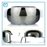Widergespiegelte PC magnetischer auswechselbarer Objektiv-Sturzhelm-kompatible Ski-Schutzbrillen