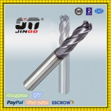1/2/3/4 Flutes Square End Mills Carbide for Steel