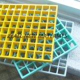FRP coloré râpant pour les plates-formes