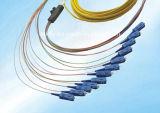 Fait dans des tresses de fibre optique de Sc du tresse optique 62.5/125um de l'usine Sc/APC de la Chine