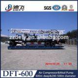 Prix de foreuse de l'eau de Dft-600 600mtrailer