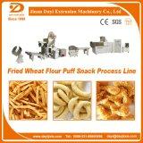 Gebratene Weizen-Mehl-Imbiss-Nahrung, die Extruder-Maschine herstellt