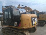 Excavador usado original 312D2gc de la correa eslabonada de la oruga