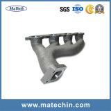 Kundenspezifisches perforiertes Metalleisen-Gussteil für Turbo-Abgas-Verteilerleitung