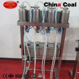 4 헤드 유리병 진공 향수 충전물 액체 충전물 기계