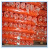 HDPE, загородка безопасности PP померанцовая пластичная