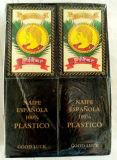 스페인 부지깽이 100%년 PVC 플라스틱 트럼프패 Eapana 최고 방수 부지깽이 트럼프패, 플라스틱 PVC 카드