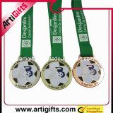 Oro de imitación plateado medalla modificado para requisitos particulares del recuerdo