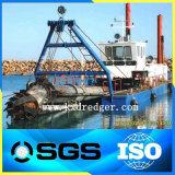 在庫の川の砂のカッターの吸引の浚渫船