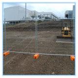 Гальванизированные временно панели загородки, загородка бассеина