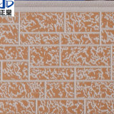 외부 벽을%s 돋을새김된 금속 지상 합성 샌드위치 위원회를 가진 엄밀한 PU 거품 절연제