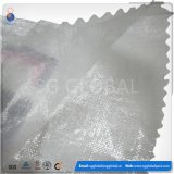 Sac tissé par pp transparent de plastique de qualité