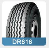 Двойная покрышка тележки дороги Dr816 тяжелая радиальная, покрышка трейлера (385/65R22.5)
