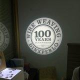 Logo de marque de café de logo de sortie de signe des lumens DEL de la lumière 1700 de projection de flèche