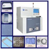 Estaca do laser da fibra e máquina Drilling para a cerâmica do óxido de alumínio com alta qualidade e eficiência