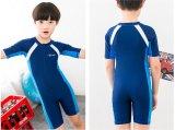 최신 판매 간결 소매 한 조각 수영복 &Color 잠수복