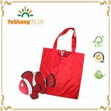 Sacs d'emballage réutilisables d'Eco de sac de sacs à provisions de poissons de sac pliable coloré de poignée