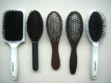 Spazzola di capelli ovale della setola di nylon del ciclo Closed di estensione dei capelli
