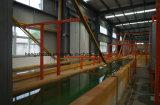 Linha de revestimento do pó para o material de construção