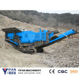 높은 Quality 및 Low Cost Tracked Impact Crusher