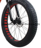 500W 1000W 26 인치 Electric Moped 바퀴에 의하여 숨겨지는 건전지 뚱뚱한 타이어 스포츠 도시 숙녀