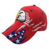 Gorra de béisbol de los 6 paneles con la insignia Bb93A