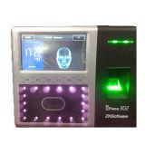 Приспособление посещаемости времени лицевого фингерпринта экрана касания 4.3 дюймов биометрическое