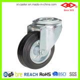 рицинус черноты отверстия для болтов 75mm резиновый промышленный (G101-11D075X25)