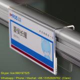Crémaillère acrylique claire de table de présentoir de carte de visite professionnelle de visite