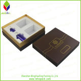 Ventana de lujo del estilo de perfume de la caja de embalaje rígido