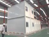 20ft' 강철 구조물 프레임 편평한 팩 집 (KXD-CH15)