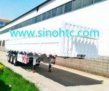 Tri remorque de mur latéral d'essieu de la qualité 2015 semi