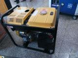 Générateur diesel portatif du panneau 5kw d'affichage numérique