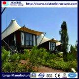 Marco de acero prefabricada Casas prefabricadas-garaje de acero prefabricadas-Hogares de acero