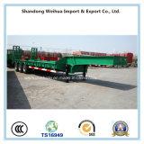 80 tonnellate di rimorchio allungabile di 16m Lowbed semi con 3 assi di Fuwa