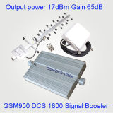 GSM het Signaal van de Telefoon van de Cel van Repeater 900 en 1800 Hulp Dubbele Band