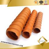 Duct ondulé pour Prestressed Concrete