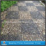 Pedra de pedras naturais naturais / amarelas / brancas baratos para mosaico de jardim