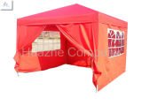 10ft x 10ft (3m x 3m) Strong TentのGazeboの上のAluminum Canopy Stright Leg Folding Tent Outdoor Gazeboの庭Canopy現れTent Easy