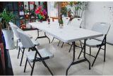 Напольное Portable 6ft Plastic Folding Half Regular Table для Dinner, Picnic, Party