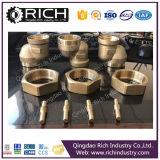 Peça de bronze fazendo à máquina da bomba da válvula de bronze do CNC/peça das peças do forjamento peça do forjamento/maquinaria/metal/automóvel/peça de aço do forjamento/forjamento de alumínio