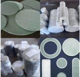 Disques agglomérés de filtre de poudre en métal