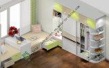 アクリルの光沢度の高いメラミン寝室の家具(ZS-050)