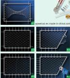 高品質のステンレス鋼ケーブルの網ワイヤー網