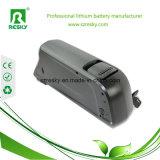 paquete de la batería de litio de 48V 9ah Downtube para la bici eléctrica
