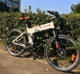 Custo - bicicleta elétrica da dobradura eficaz para a bicicleta de dobramento da alta qualidade (OKM-892)