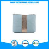 Material popular y caliente de la PU de la venta con el bolso o el bolso del maquillaje de la decoración del ajuste